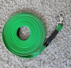 Taros hundsport närproducerad spårlina 10 / 15 meter, 20 mm bred, antislip