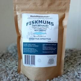 Hundapoteket närproducerat kattgodis FISKMUMS 100g