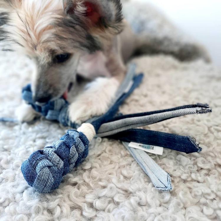 Mini&Bror närproducerade hundleksaker JEANSKOMET