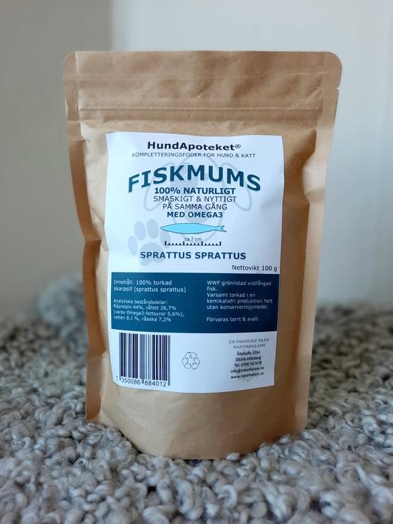 Hundapoteket närproducerat hundgodis FISKMUMS 100g
