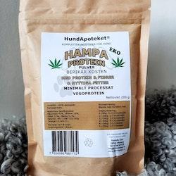 Hundapoteket närproducerat kosttillskott till hund och katt HAMPAPROTEIN 200 gram