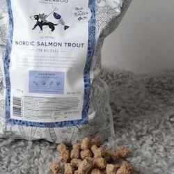 Wonderboo närproducerad hundmat - NORDIC SALMON TROUT 750g
