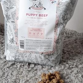 Wonderboo närproducerad hundmat - PUPPY BEEF 750g