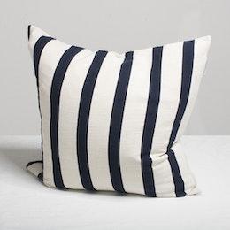 Marbäck – Pillowcase - Navy Stripe 50x50 cm