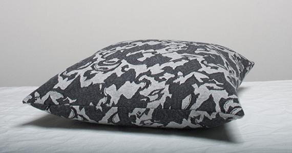 Marbäck - Pillowcase -  Grey Jaquard