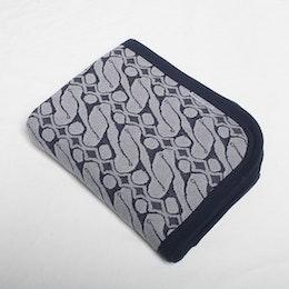 Marbäck – Baby Blanket - Blue Jaquard