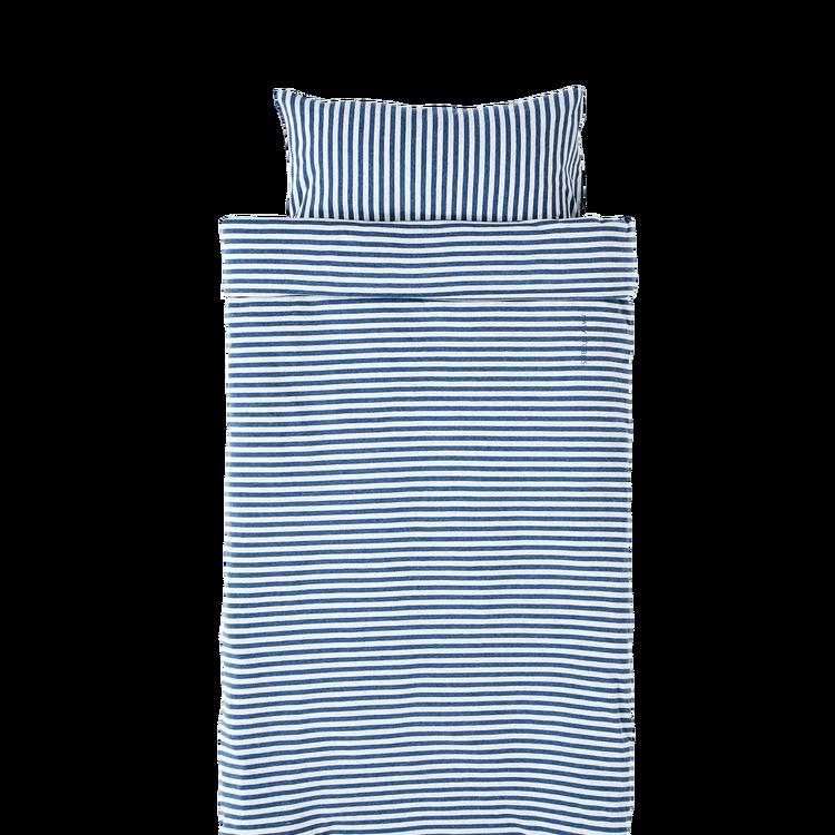 Marbäck - Bedset 100x130 - Navy Stripe