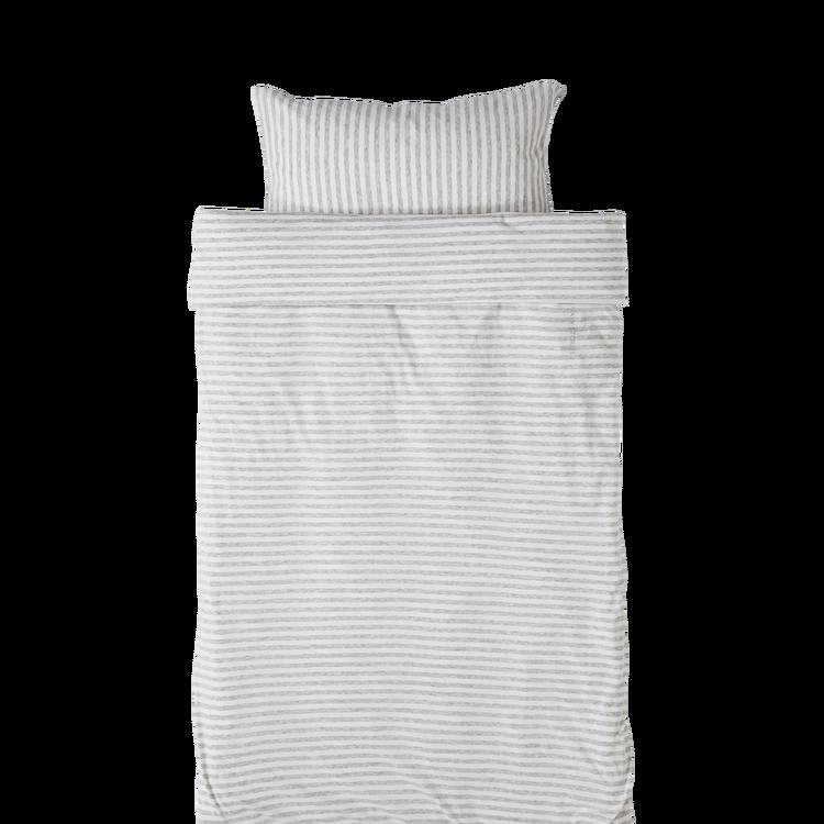 Marbäck - Bedset 100x130 - White Stripe