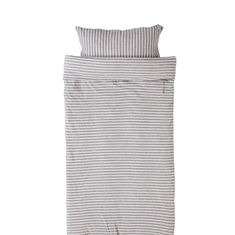 Marbäck - Bedset 100x130 - Pink Stripe