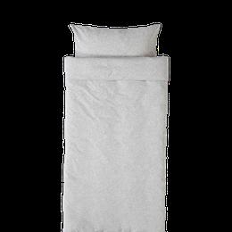 Marbäck - Påslakan 70x80 - Ljusgrå melange