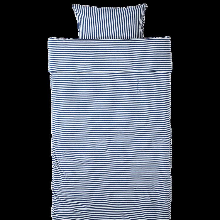 Marbäck - Bedset - Navy Stripe