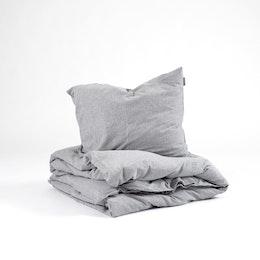 Marbäck - Bedset - Grey Melange
