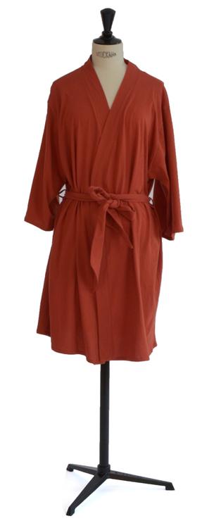 Tillfällig färg - Marbäck - Kimono - Roströd