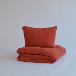 Tillfällig färg - Marbäck - Örngott - Röd
