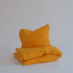 Tillfällig färg - Marbäck - Örngott - Senapsgul
