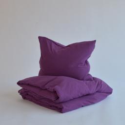 Tillfällig färg - Marbäck - Örngott - Plommonlila