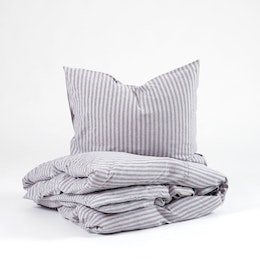 Marbäck - Pillowcase - Pink stripe