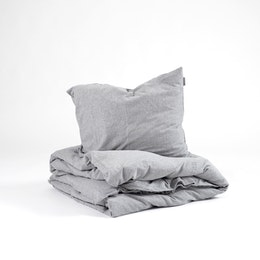 Marbäck - Pillowcase - Grey Melange