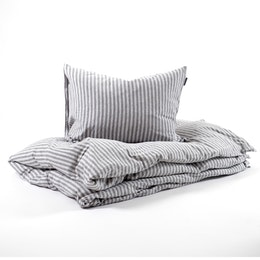 Marbäck - Pillowcase - Grey Stripe