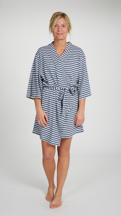 Marbäck – Kimono – Navy Stripe