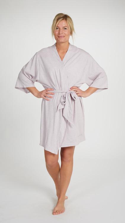 Marbäck - Kimono - Rosa melange