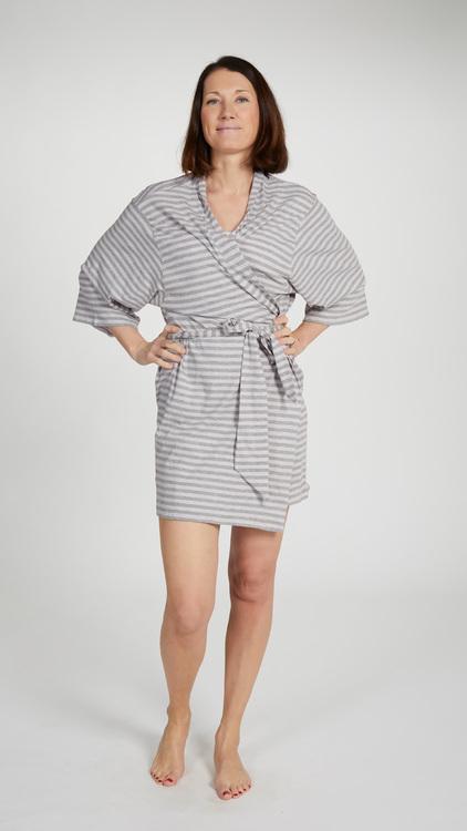 Marbäck - Kimono - Pink Stripe