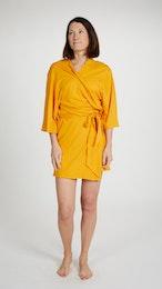Tillfällig färg - Marbäck - Kimono - Gul
