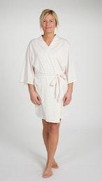 Marbäck - Kimono - Ljusrosa rand