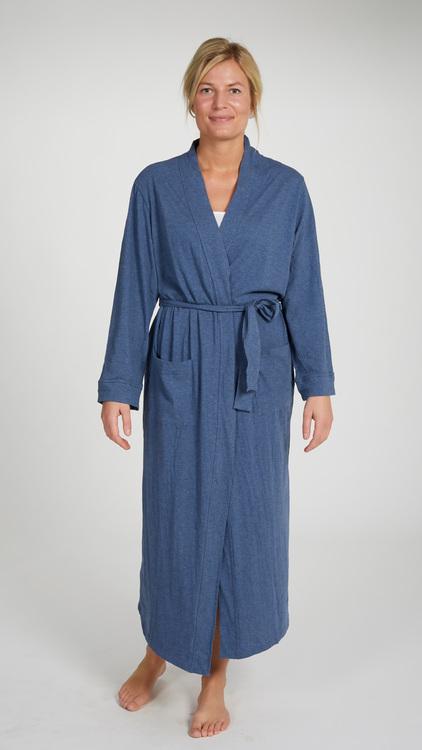 Marbäck – Dressing Gown – Navy Melange