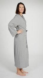 Marbäck – Dressing Gown – Grey Melange