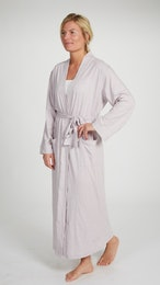 Marbäck – Dressing Gown – Pink Melange