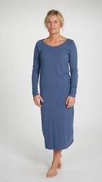 Marbäck - Nightgown - Navy Melange