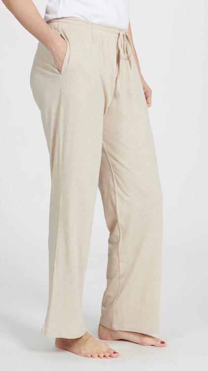 Marbäck - Pyjamasbyxa - Beige melange