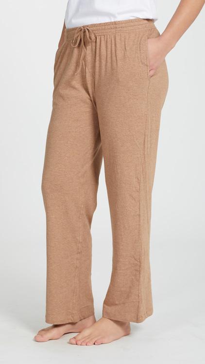Marbäck - Pyjamasbyxa - Brun melange