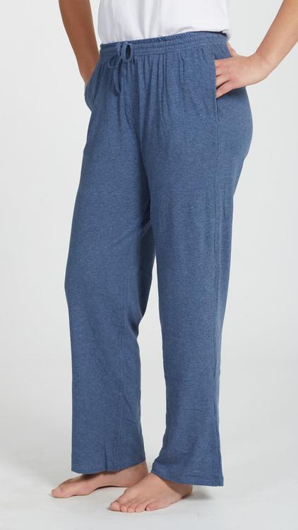 Marbäck - Pyjamasbyxa - Marin melange