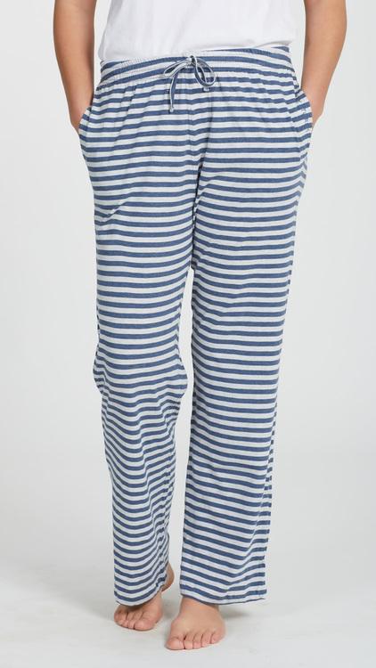 Marbäck - Pyjamasbyxa - Marin rand