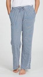 Marbäck - PJ Pants - Navy Stripe