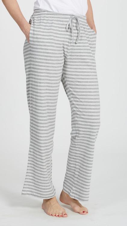 Marbäck - Pyjamasbyxa - Grå rand