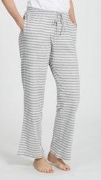 Marbäck - PJ Pants - Grey Stripe