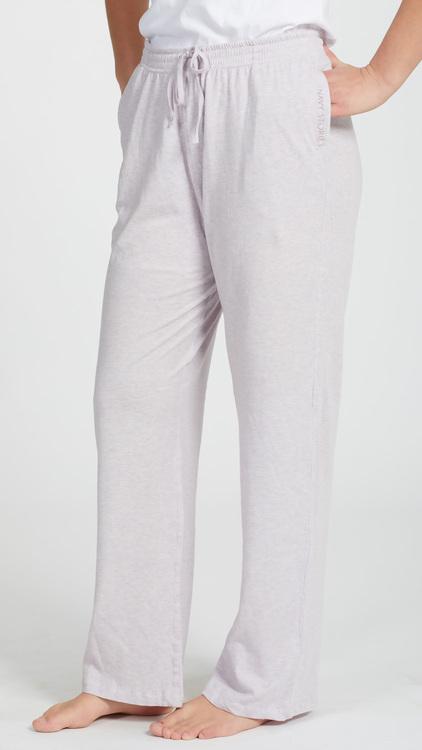 Marbäck - Pyjamasbyxa - Rosa melange