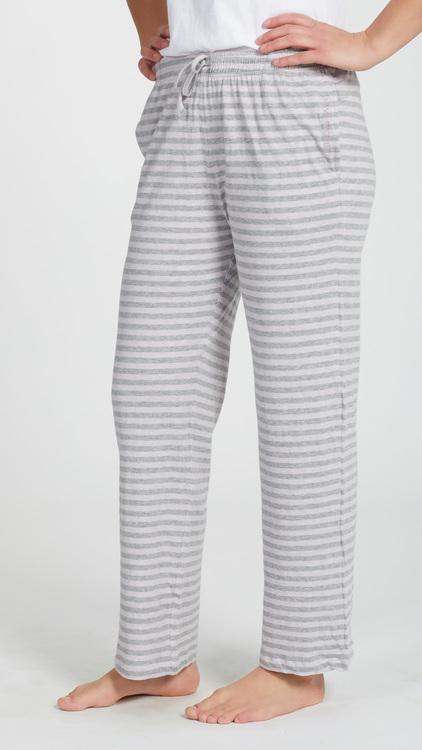Marbäck - Pyjamasbyxa - Rosa rand