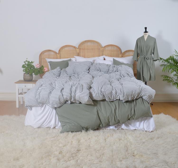 Marbäck - Kimono - Dimgrön