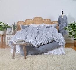 Marbäck - Kimono - Dimblå
