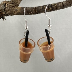 Glas med kaffe