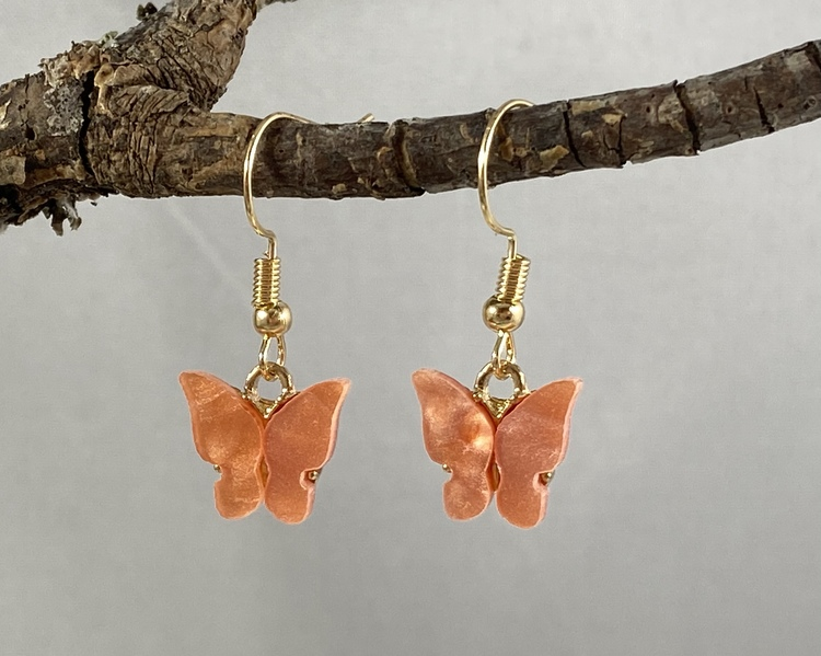Fjärilar aprikos