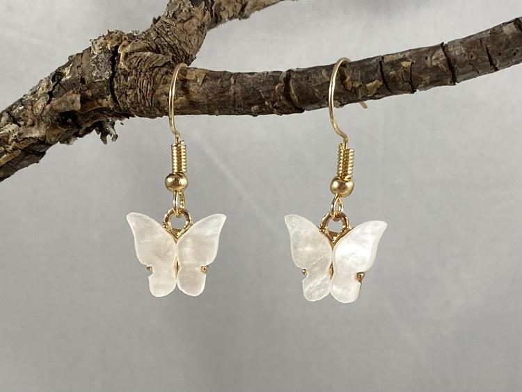 Fjärilar vita