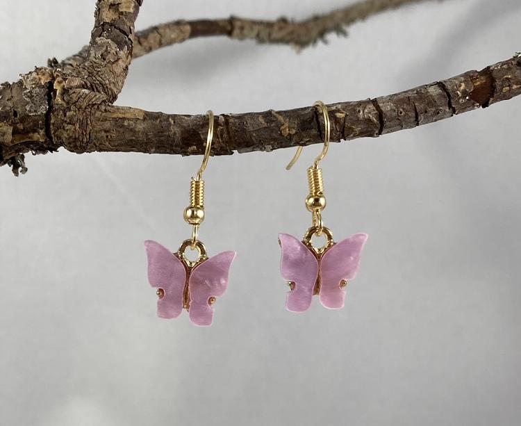 Fjärilar rosa