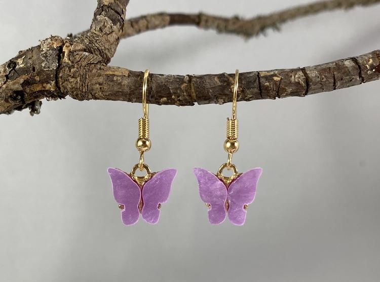 Fjärilar lila