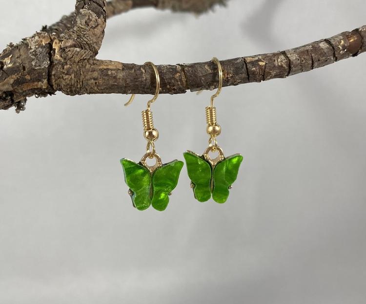 Fjärilar grön