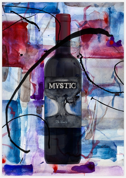 Red Wine Art